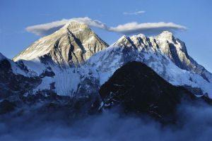 mountains shaken