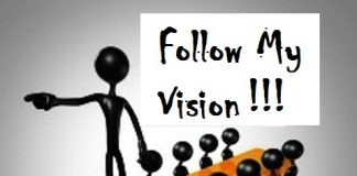 follow my vision
