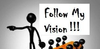 follow my vision