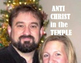 AntiChrist in the Temple