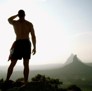 stand upon the mountain
