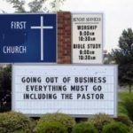 the church should not be a business
