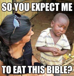 eat bible