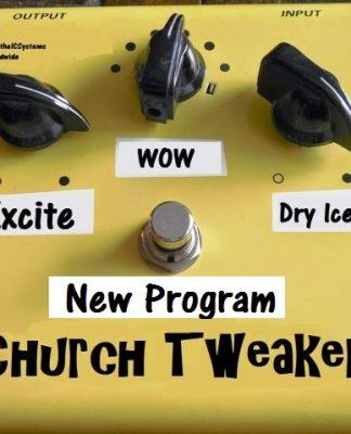 Tired of being a Church Tweaker