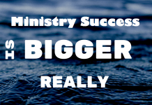 Ministry Success Syndrome
