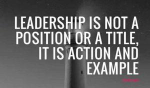 Bottom to top Leadership